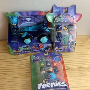 Pj mask pj mask catboy romeo cat car mashems